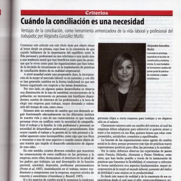 IDC México : Cuando la conciliación es una necesidad