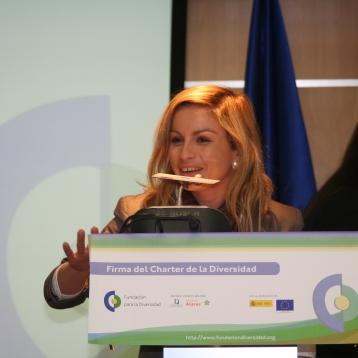Sede de la representación de la Comunidad Europea en Madrid . Charter de la Diversidad . Madrid